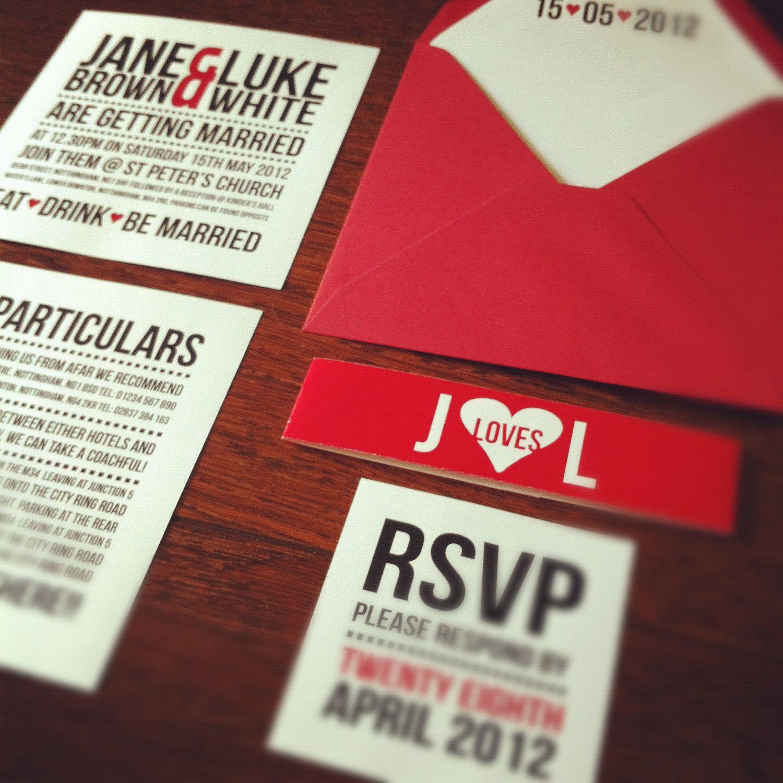 modern invite (digital file only) | Wedding Invites-Design Ideas ...