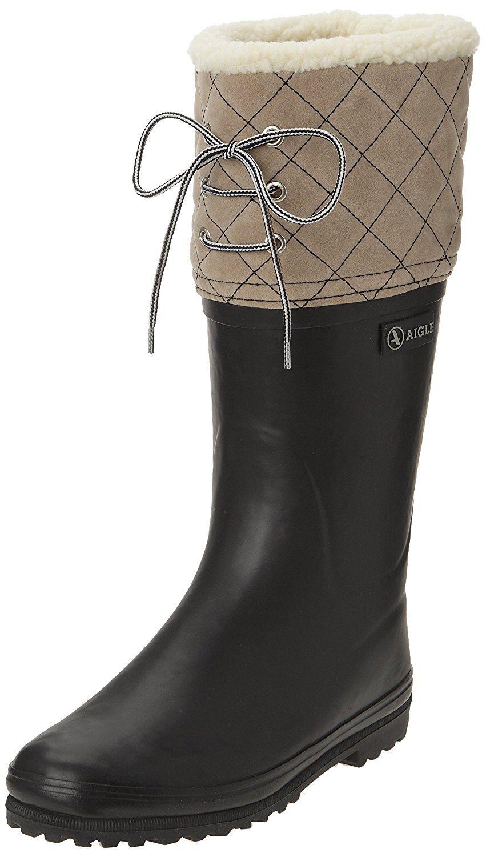 Aigle , Polka Giboulee , Botte de neige , Femme Amazon.fr Chaussures