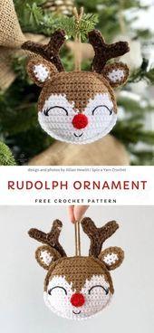 Photo of Crochet Christmas tree decorations – – #christmas #craftstodowhenbored #crochet #holi ……