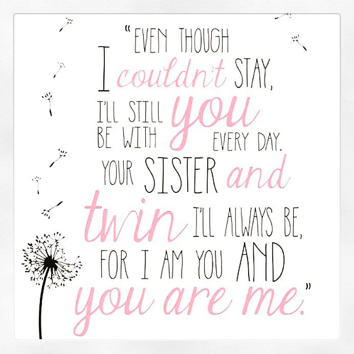 Twin Baby Girl Quotes: Baby Loss Quotes And Words - Missing My