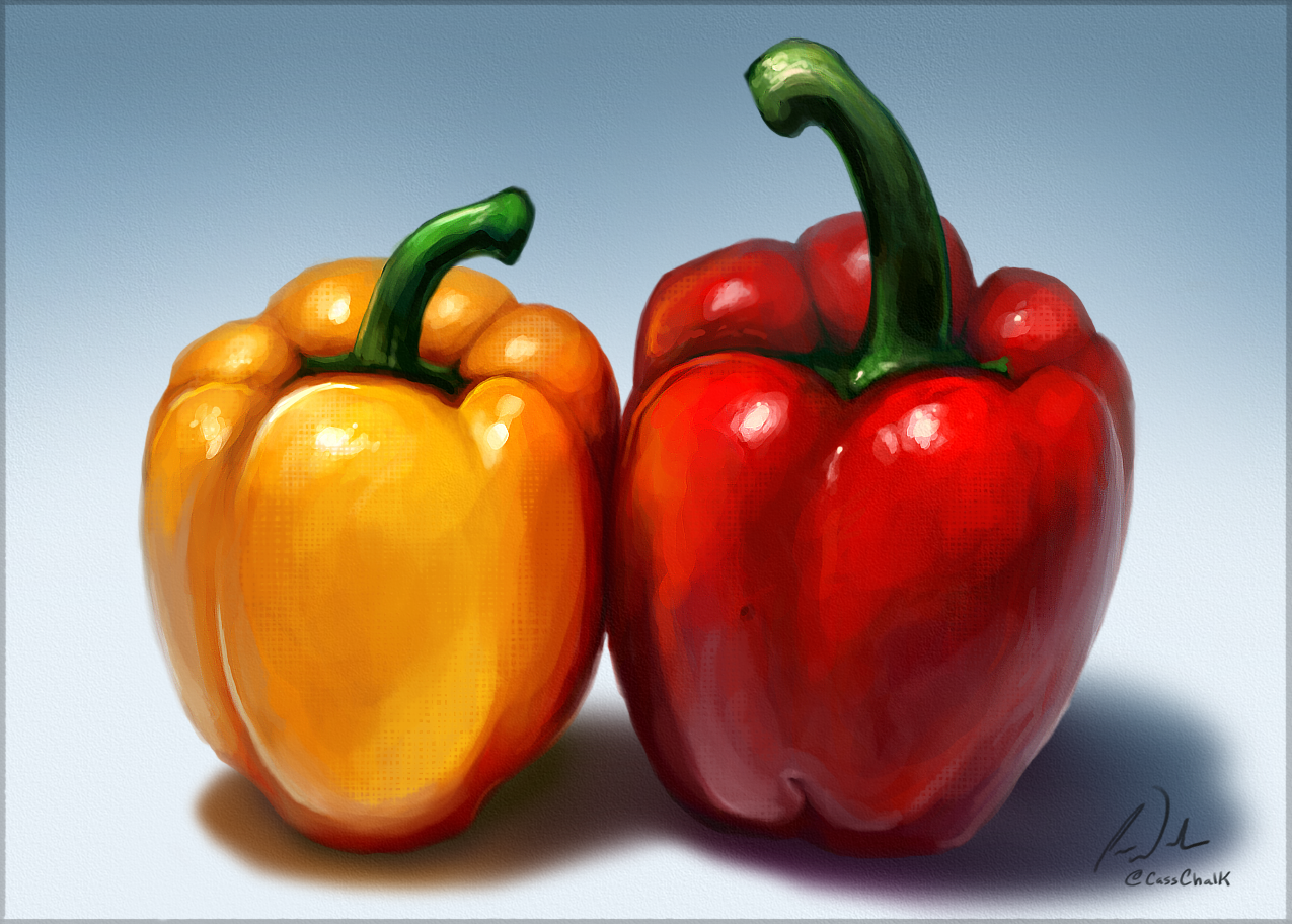 Bell Peppers Speed Paint By Charfade On DeviantArt