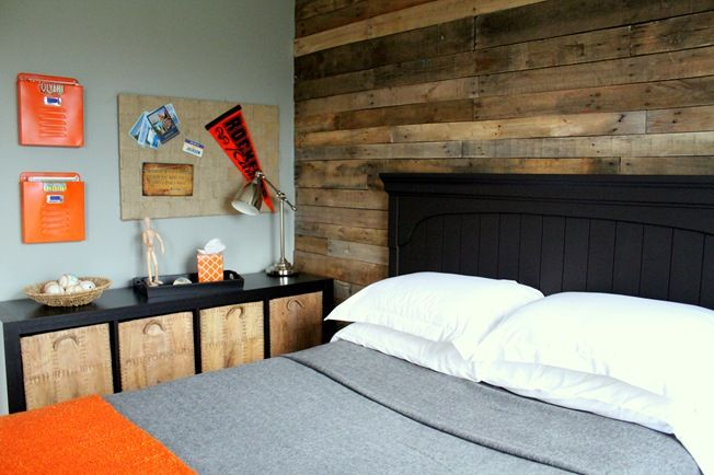 Pallet Accent Wall I Am So In Love With Pallest Now