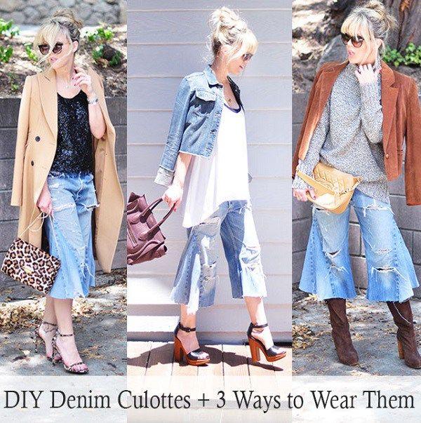 36b272c6dd4 Tutorial  Turn jeans into culottes