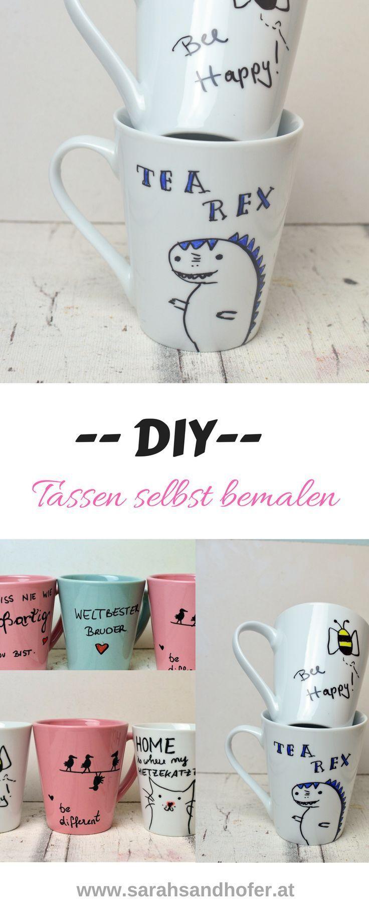 Photo of Tassen bemalen – eine einfache Geschenkidee – Travel & Lifestyleblog