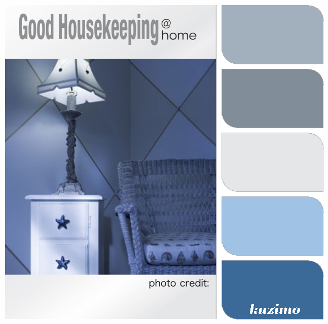 Photo from Good Housekeeping and color matches via Kuzimo (app).