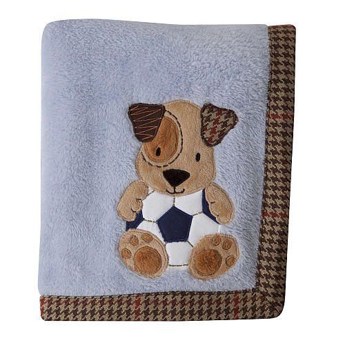 The Lambs Amp Ivy Bow Wow Blanket Coordinates With The Bow