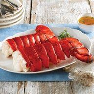 Giant Canadian Lobster Tails Huge Lobster Dinner Canadian Lobster Live Lobster