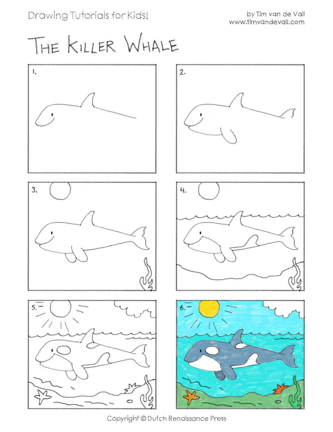 Orca Worksheet Kindergarten