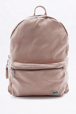 daf26a08ee7e BDG Canvas Backpack - Urban Outfitters