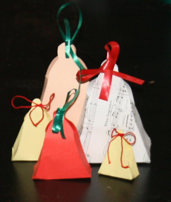 Lavoretti Di Natale Scatoline A Forma Di Campana La Pappadolce