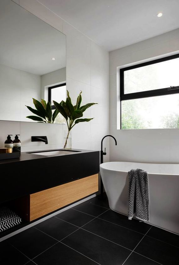 Gut Modern Bathroom #home #design #minimal