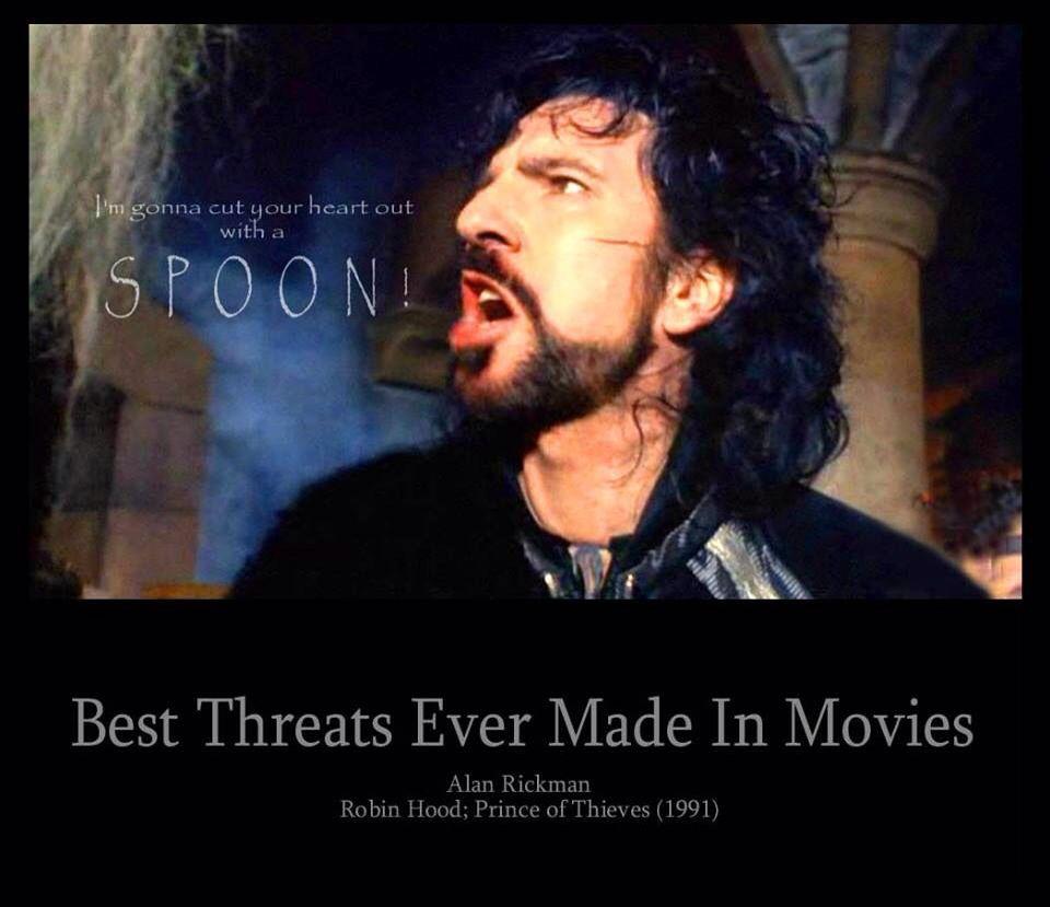 Alan Rickman Robin Hood Spoon