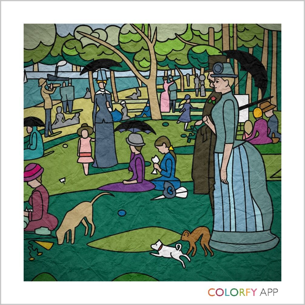 Pin by Susan Steinicke on Colorfy Art, My arts, Comic