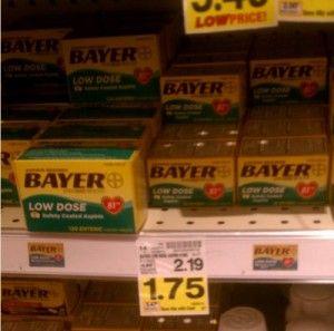 Kroger: Bayer Aspirin as low as FREE! Week of July 8th
