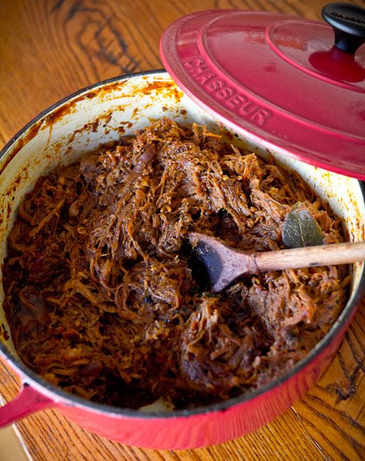 French Oven Pulled Pork