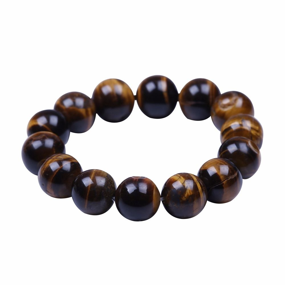 Tiger eye buddha bracelets u bangles trendy natural stone bracelet