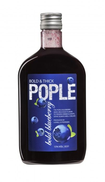 Lignell&Piispanen Pople Bold Blueberry 15% 50cl PET
