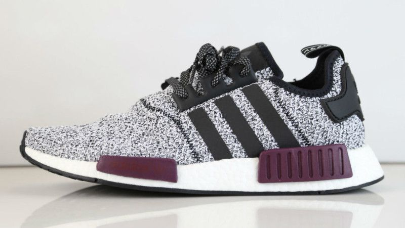 Champs adidas NMD White Black Burgundy