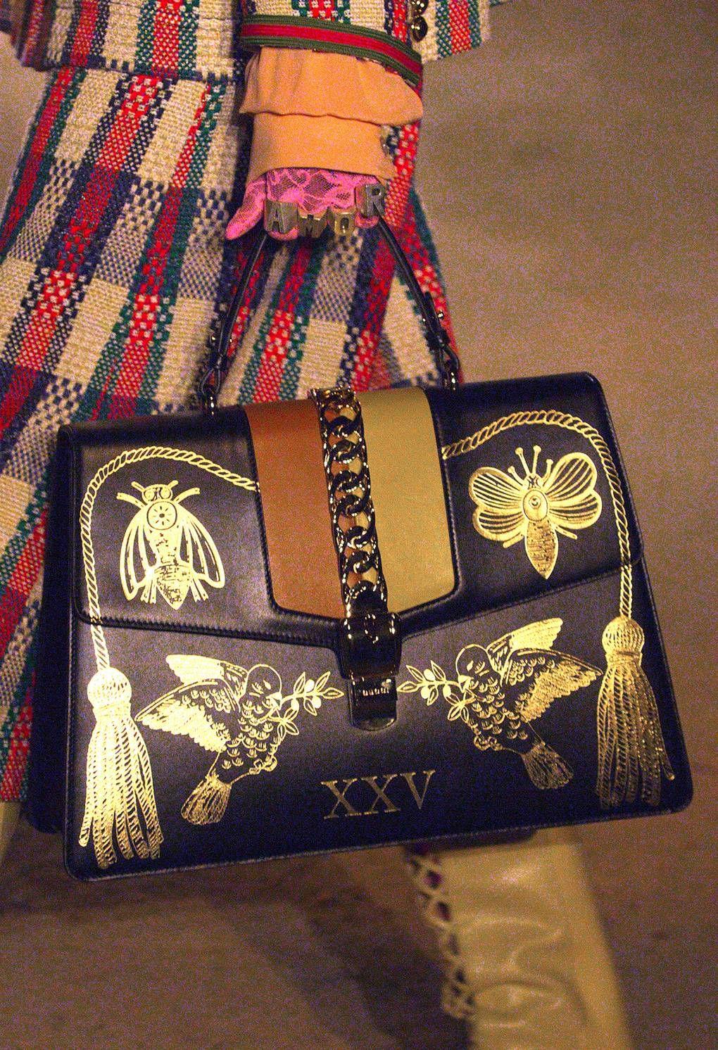 b82ae8704cad Gucci fashion show Details - via theimpression site