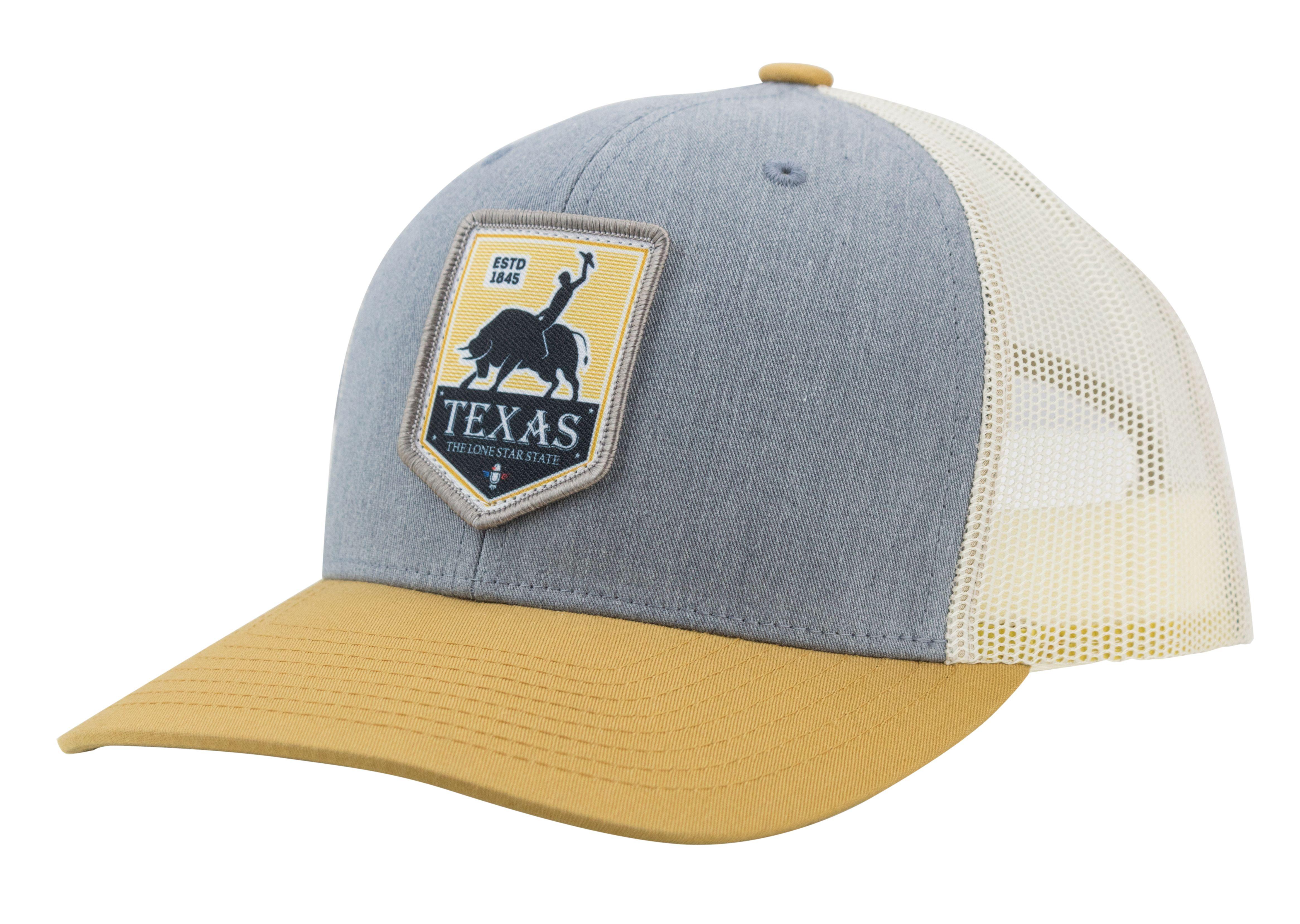 c4e14dd73e4aa CAMORIS Texas Rodeo Logo Baseball Cap Trucker Hat
