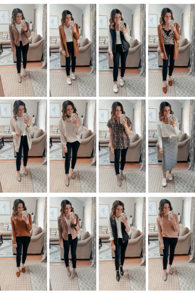Fall Capsule Wardrobe | 60 outfits from 30 pieces - KMM Lifestyle