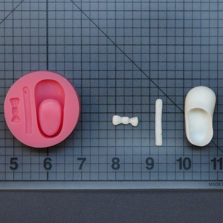 Baby Girl Shoe 1056 Silicone Mold In 2020