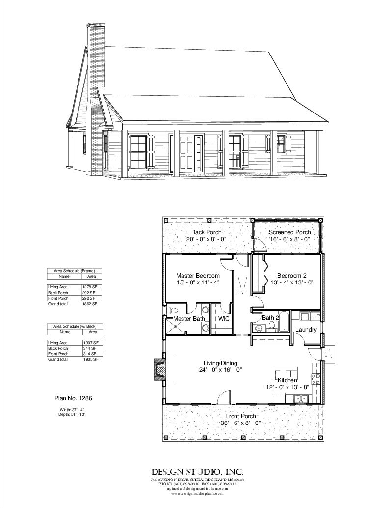 Plan 1286 Design Studio Use The Height Of The Gable For The Master Bdrm Make Downstairs Bedrooms Cottage Floor Plans Cabin Floor Plans House Floor Plans