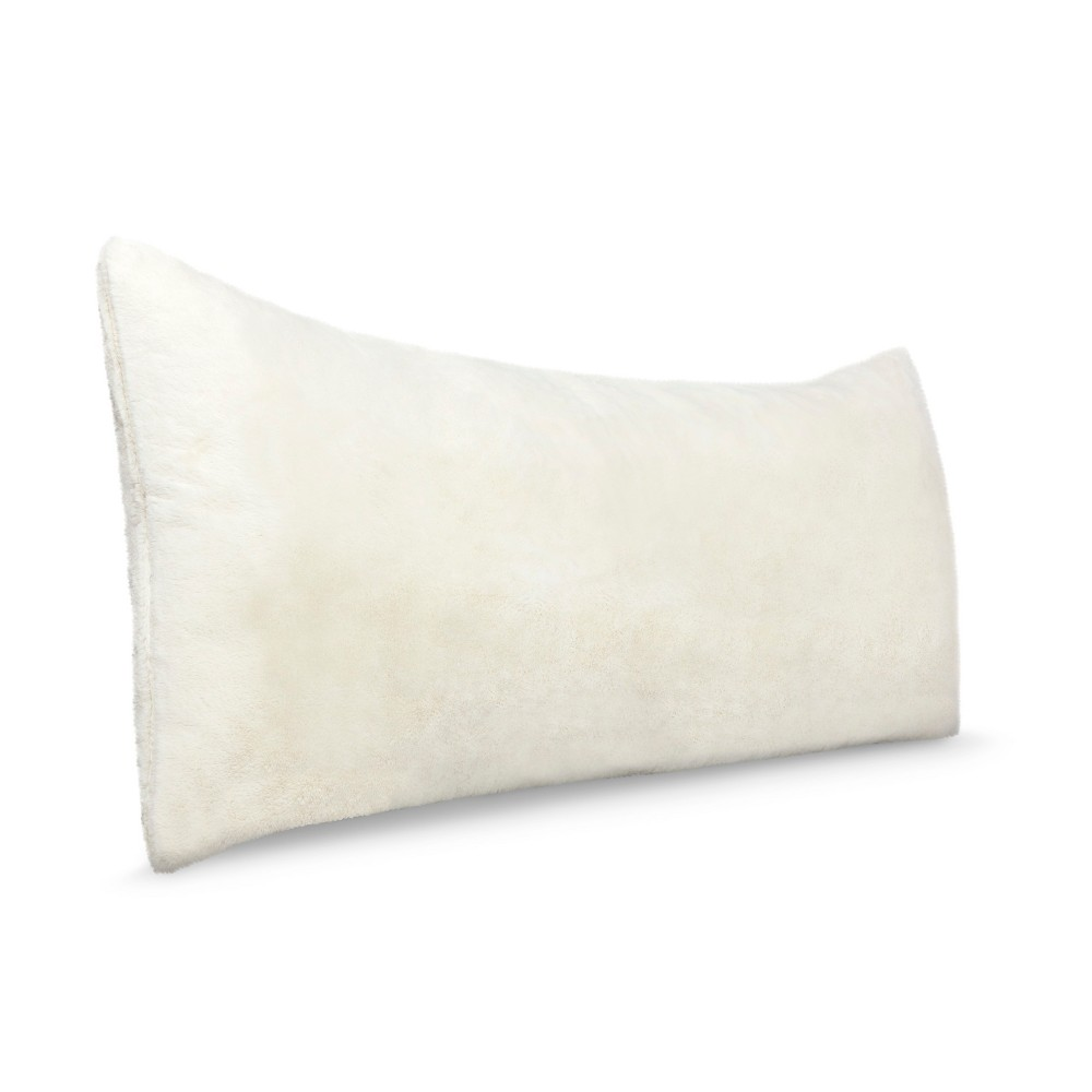 Target Body Pillow Cover Cool Body Pillow Cover  White  Room Essentials White Fur  Body Pillow Decorating Design