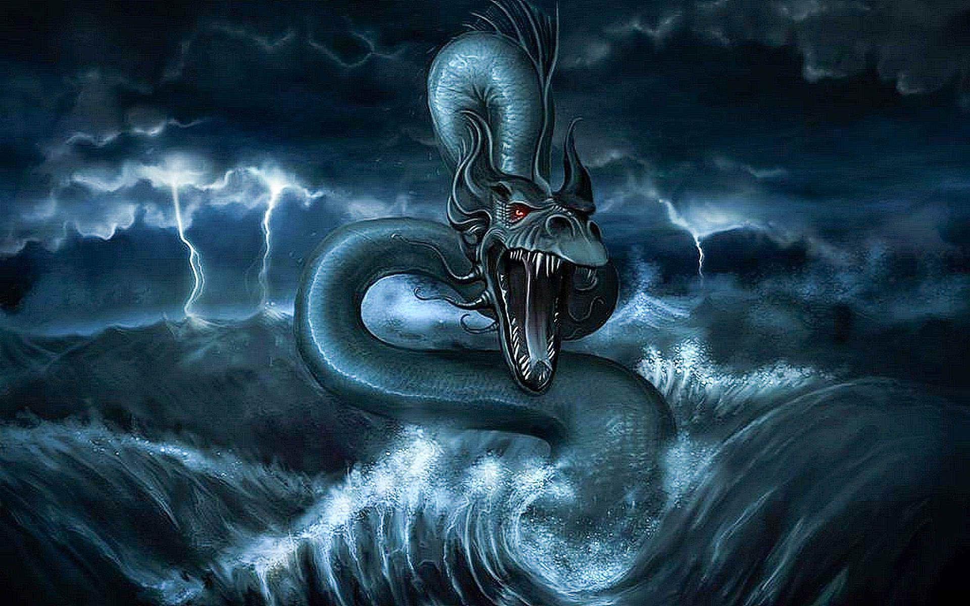 Sea Monster Wallpaper Photo Sea Monsters Photo Wallpaper