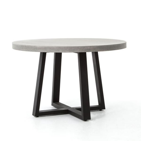 Dining Table 1367579 Lillianaugust Concrete Dining Table Round