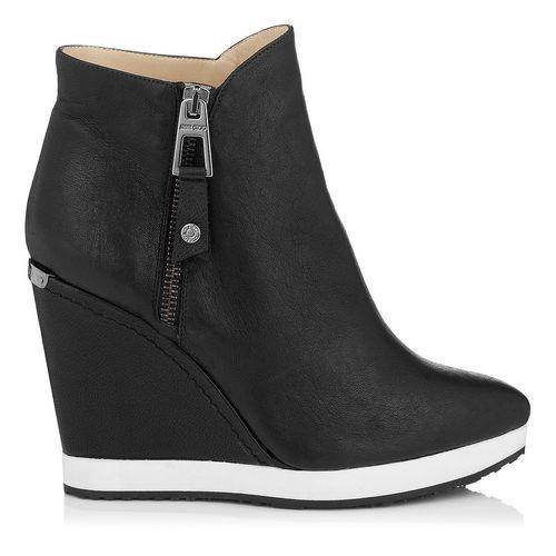 09f2ecc03e3a Jimmy Choo PAROLE Leather Wedges