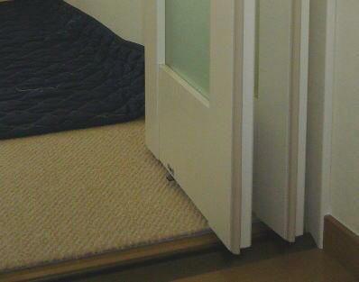 アズウッド タチカワブラインド 間仕切り リビング階段 折れ戸 家