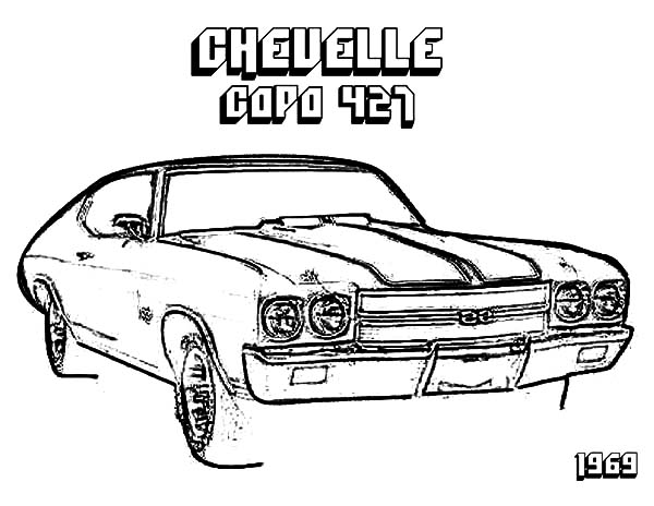 Camaro Cars Chevelle Capa 427 Coloring Pages Best Place To Color Cars Coloring Pages Camaro Car Camaro