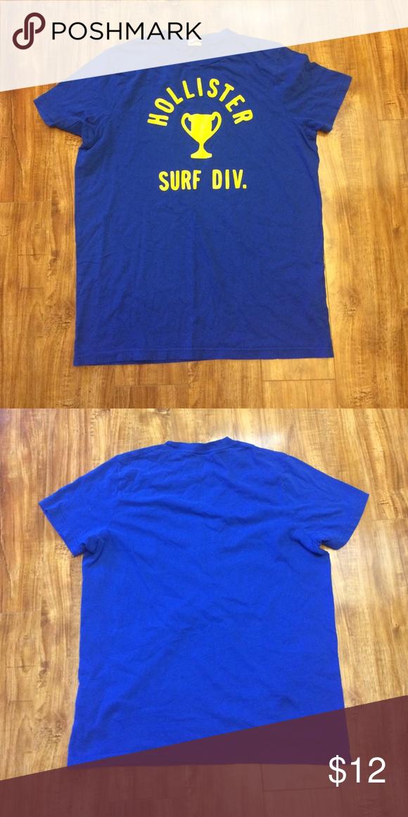 Hollister XL Preowned Hollister Shirts Tees - Short Sleeve