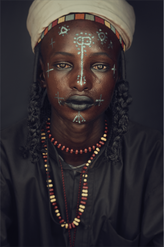 Wodaabe woman. Chad Jimmy Nelson