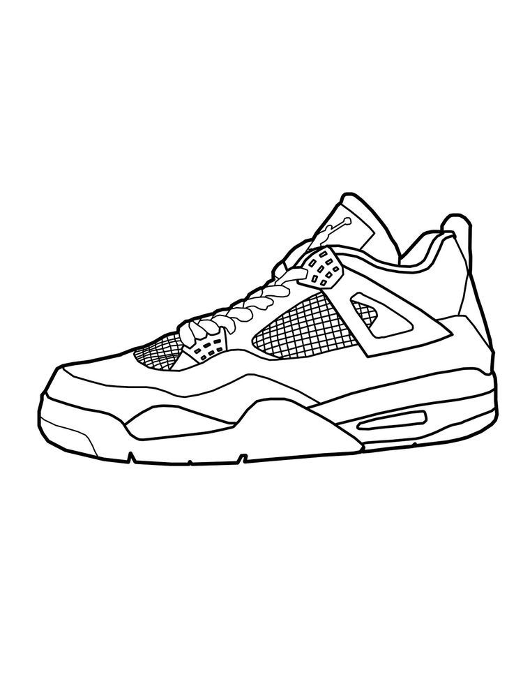 Shoes Coloring Pages Free The Following Is Our Collection Of Shoes Coloring Page You Are Free To D Coloring Pages Cool Coloring Pages Coloring Pages To Print