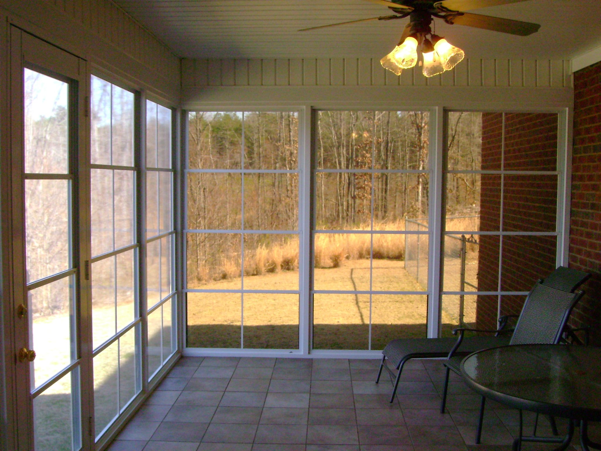 Anchor Home Services Builds Custom Screen Porch Rooms And Installs Patio Porch And Garage Enclosure Systems Sliding Patio Doors Patio Enclosures Porch Patio