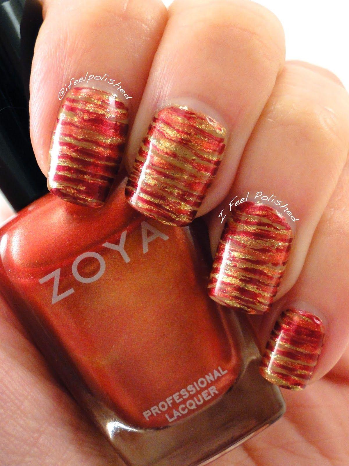 fan brush nail art | Nails | Pinterest | Fan brush nails and Fan brush