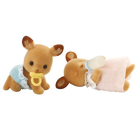 Buy Sylvanian Families Buckley Red Deer Family Twins Online at johnlewis.com