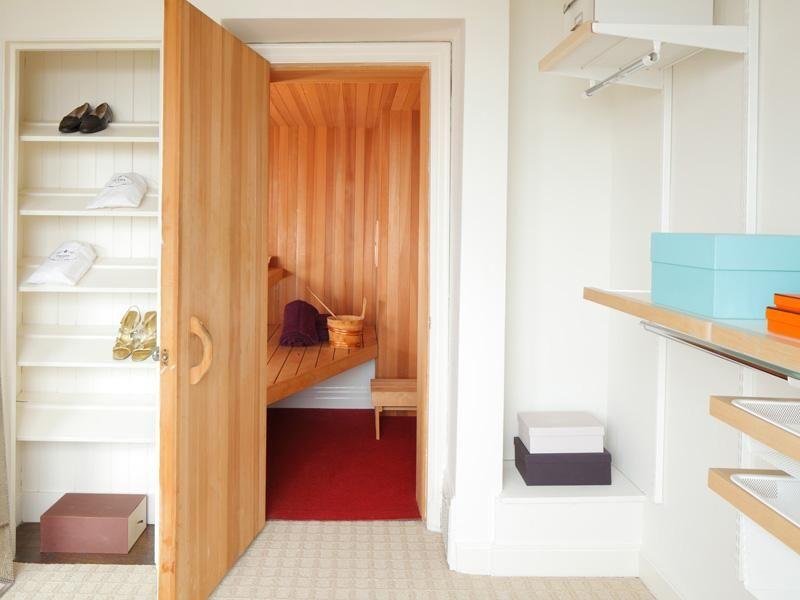 Great Sauna In The Closet!