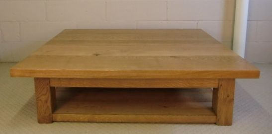 Very Large 5 Foot Square Coffee Table Large Square Coffee Table