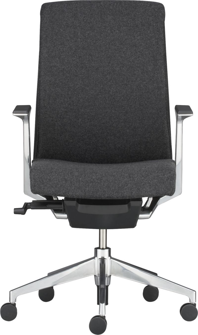 in grey flannel stock plus color haworth very charcoal task chair