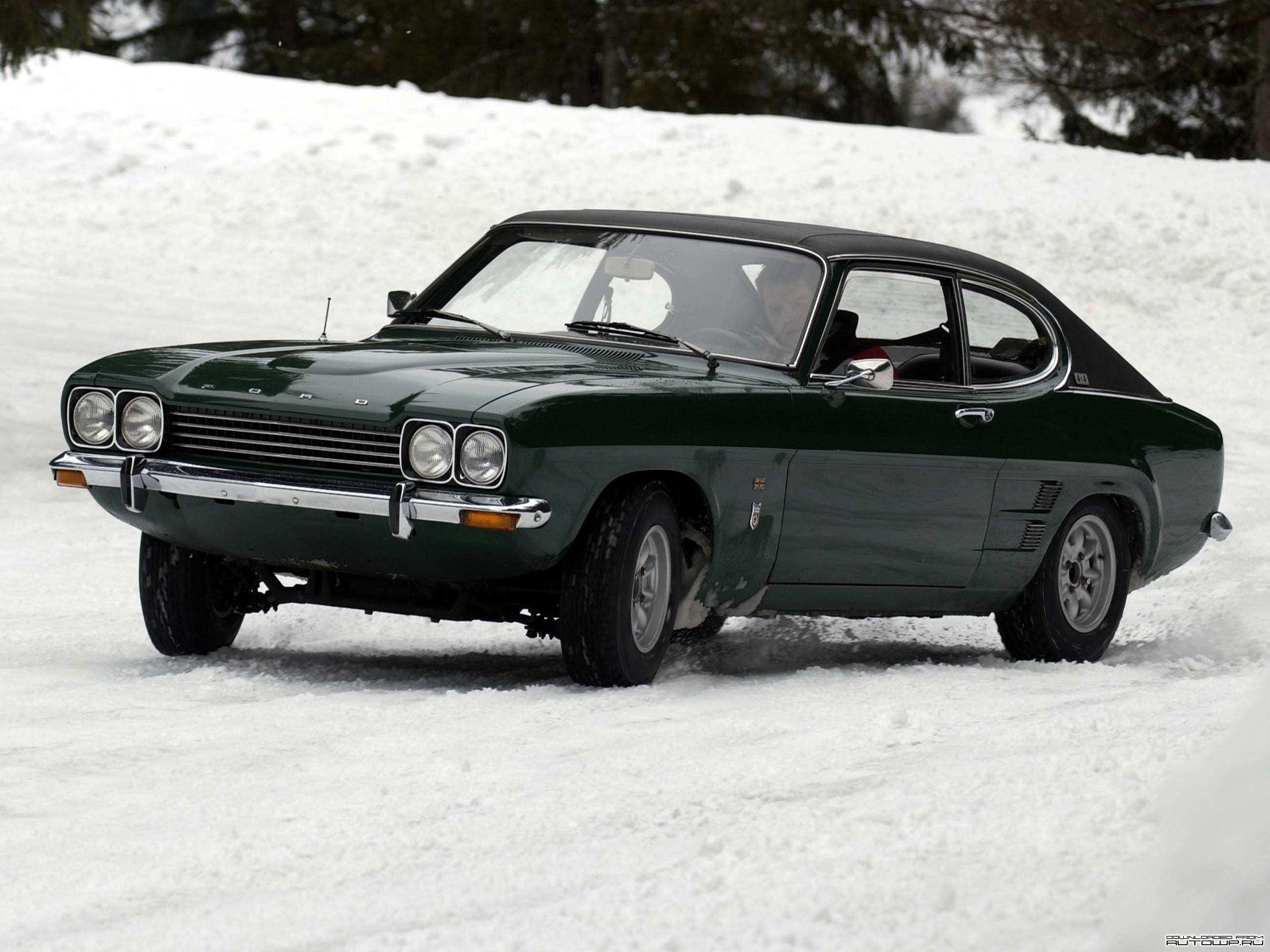 1969 Mk1 Ford Capri 1970s Oldtimers