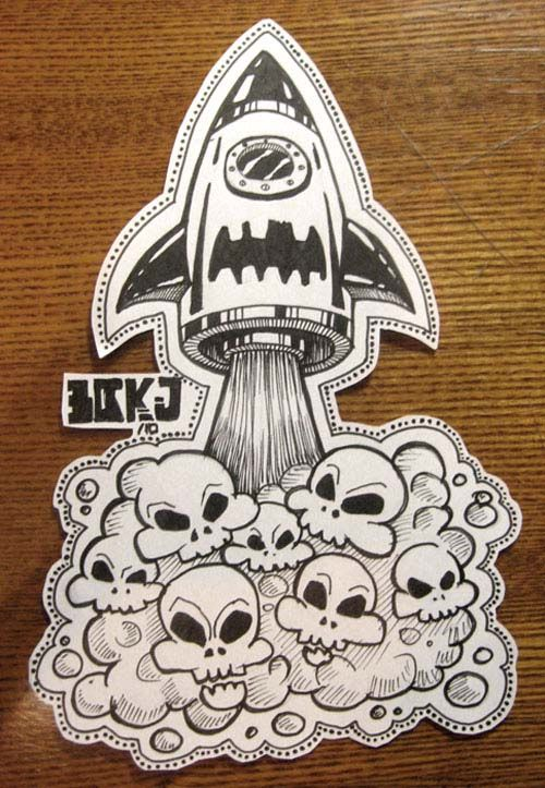 Awesome Sticker Design From Illustration To Printing