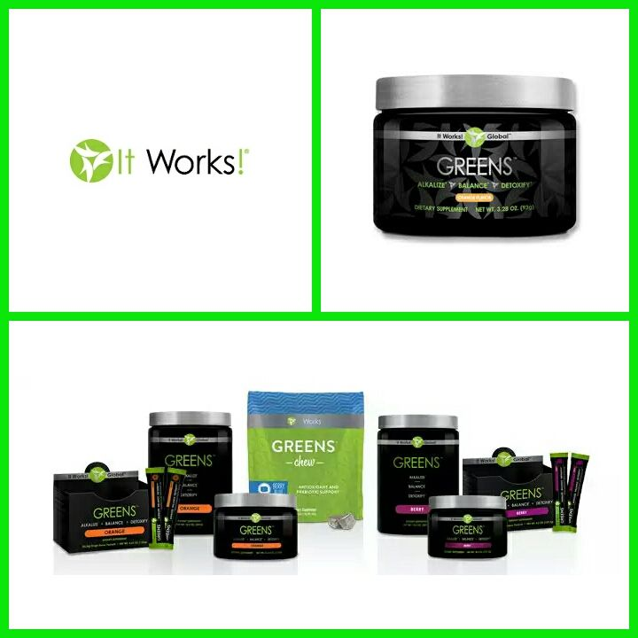 Spring is here try a wrap or some green products from it works!