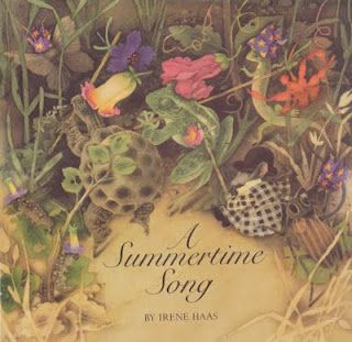 A Summertime Song by  one of my favorite artists, Irene Hass.