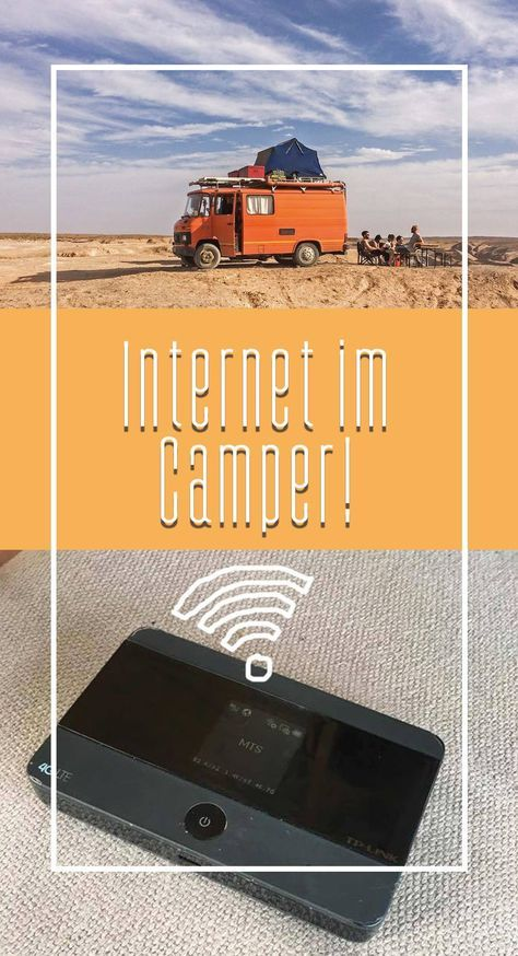 Photo of INTERNET IM WOHNMOBIL – LTE WIFI IM CAMPER