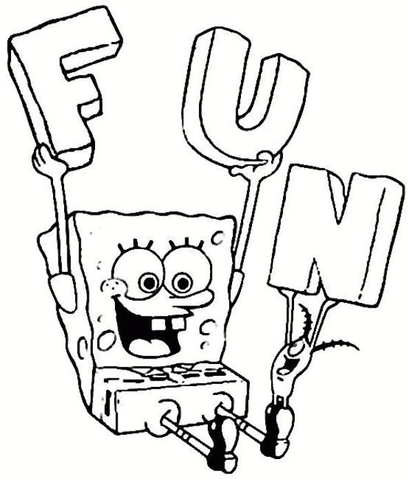 Spongebob Coloring Sheets To The Kid S Next Birthday Celebration Is A Fantastic Fun And Ente Cool Coloring Pages Birthday Coloring Pages Cartoon Coloring Pages