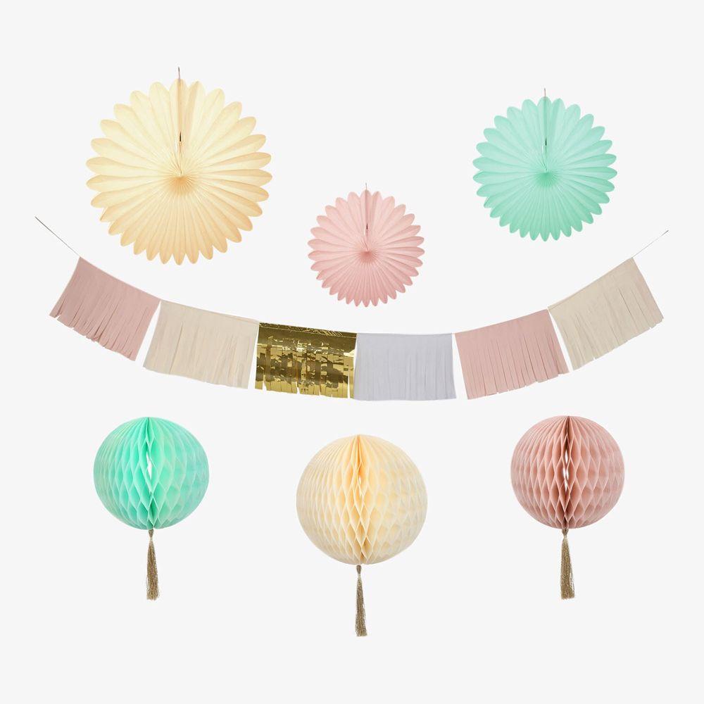 Meri Meri Decorating Kit Wedding Cream/Pink/Turquoise