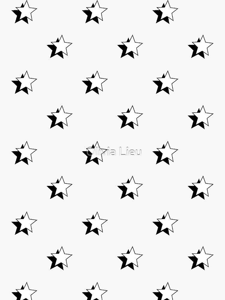 'vsco star sticker pack' Transparent Sticker by Olivia Lieu